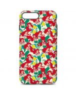 Ariel and Flounder Pattern iPhone 7 Plus Pro Case