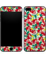 Ariel and Flounder Pattern iPhone 8 Plus Skin