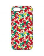 Ariel and Flounder Pattern iPhone 8 Pro Case