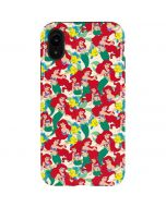 Ariel and Flounder Pattern iPhone XR Pro Case
