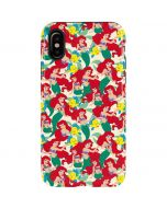 Ariel and Flounder Pattern iPhone XS Max Pro Case