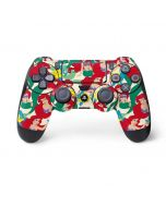 Ariel and Flounder Pattern PS4 Pro/Slim Controller Skin