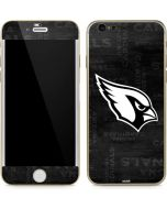 Arizona Cardinals Black & White iPhone 6/6s Skin