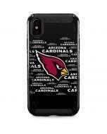 Arizona Cardinals Black Blast iPhone XS Max Cargo Case