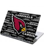 Arizona Cardinals Black Blast Yoga 910 2-in-1 14in Touch-Screen Skin