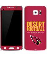 Arizona Cardinals Team Motto Galaxy S6 Edge Skin
