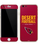 Arizona Cardinals Team Motto iPhone 6/6s Skin