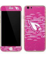 Arizona Cardinals Pink Blast iPhone 6/6s Skin