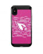 Arizona Cardinals Pink Blast iPhone XS Max Cargo Case