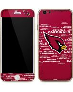 Arizona Cardinals Red Blast iPhone 6/6s Skin