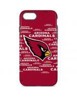 Arizona Cardinals Red Blast iPhone 8 Pro Case
