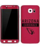Arizona Cardinals Red Performance Series Galaxy S6 Edge Skin