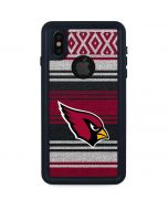 Arizona Cardinals Trailblazer iPhone XS Waterproof Case