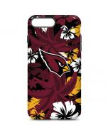 Arizona Cardinals Tropical Print iPhone 7 Plus Pro Case
