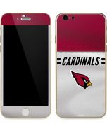 Arizona Cardinals White Striped iPhone 6/6s Skin