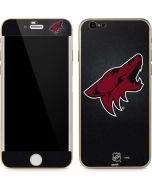 Arizona Coyotes Black Background iPhone 6/6s Skin