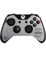 Arizona Coyotes Black Text Xbox One Controller Skin