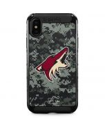 Arizona Coyotes Camo iPhone XS Max Cargo Case