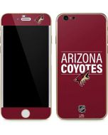 Arizona Coyotes Lineup iPhone 6/6s Skin