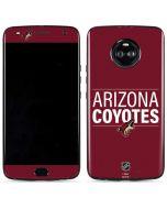 Arizona Coyotes Lineup Moto X4 Skin