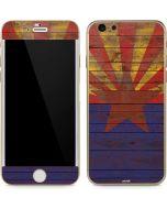 Arizona Flag Dark Wood iPhone 6/6s Skin