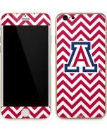 Arizona Wildcats Chevron Print iPhone 6/6s Skin