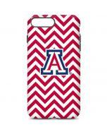 Arizona Wildcats Chevron Print iPhone 7 Plus Pro Case