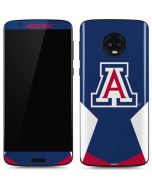 Arizona Wildcats Logo Moto G6 Skin