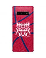 Arizona Wildcats Red Basketball Galaxy S10 Plus Skin