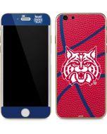 Arizona Wildcats Red Basketball iPhone 6/6s Skin