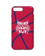 Arizona Wildcats Red Basketball iPhone 7 Plus Pro Case
