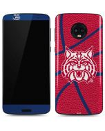 Arizona Wildcats Red Basketball Moto G6 Skin