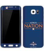 Astros Nation Galaxy S6 Edge Skin