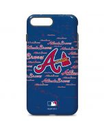 Atlanta Braves - Cap Logo Blast iPhone 7 Plus Pro Case