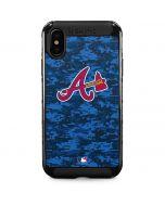 Atlanta Braves Digi Camo iPhone XS Max Cargo Case