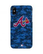Atlanta Braves Digi Camo iPhone XS Max Lite Case