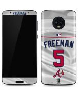 Atlanta Braves Freeman #5 Moto G6 Skin