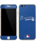Atlanta Braves Monotone iPhone 6/6s Skin