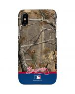 Atlanta Braves Realtree Camo iPhone XS Max Lite Case
