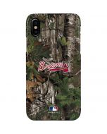 Atlanta Braves Realtree Xtra Green Camo iPhone XS Max Lite Case