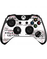Atlanta Falcons - Blast Xbox One Controller Skin