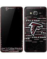 Atlanta Falcons Black Blast Galaxy Grand Prime Skin