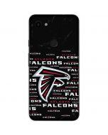 Atlanta Falcons Black Blast Google Pixel 3a Skin