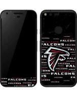 Atlanta Falcons Black Blast Google Pixel Skin