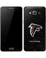 Atlanta Falcons Distressed Galaxy Grand Prime Skin