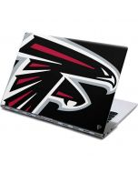 Atlanta Falcons Large Logo Yoga 910 2-in-1 14in Touch-Screen Skin