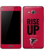 Atlanta Falcons Team Motto Galaxy Grand Prime Skin
