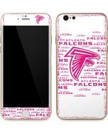 Atlanta Falcons Pink Blast iPhone 6/6s Skin