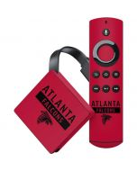 Atlanta Falcons Red Performance Series Amazon Fire TV Skin