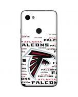 Atlanta Falcons White Blast Google Pixel 3a Skin